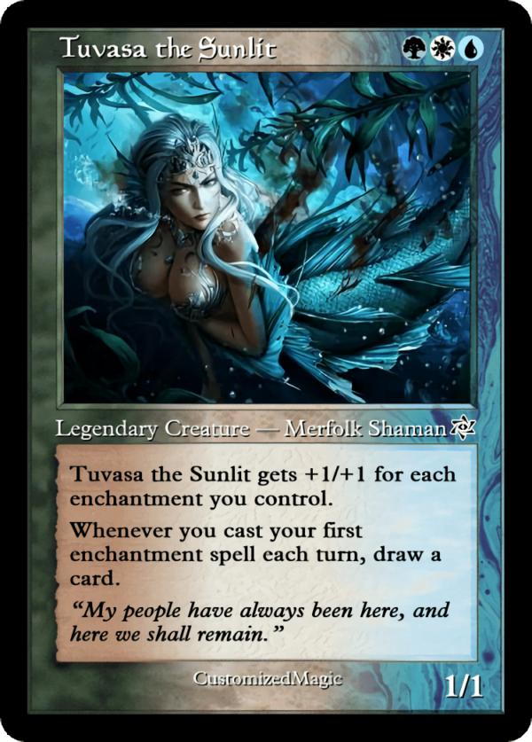 Tuvasa the Sunlit.6 - Magic the Gathering Proxy Cards