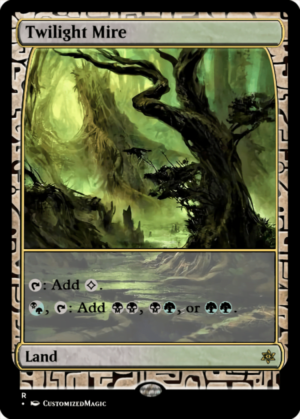Twilight Mire - Magic the Gathering Proxy Cards