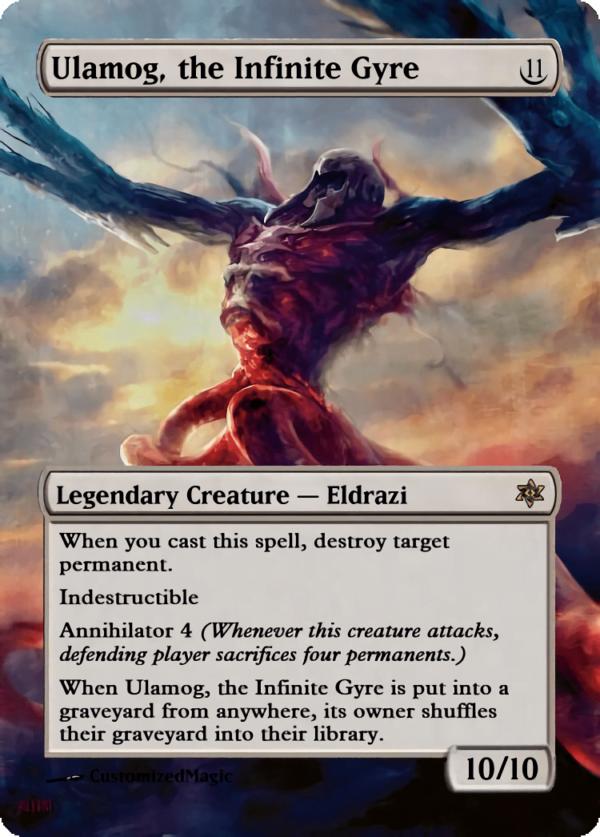 Ulamog the Infinite Gyre.1 - Magic the Gathering Proxy Cards