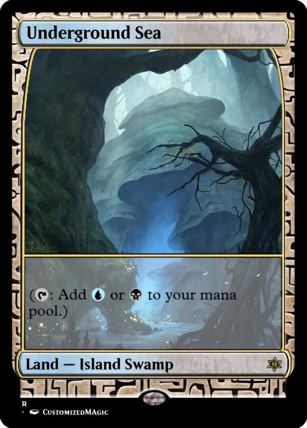 Underground Sea - Magic the Gathering Proxy Cards
