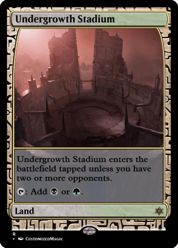 Undergrowth Stadium - Magic the Gathering Proxy Cards