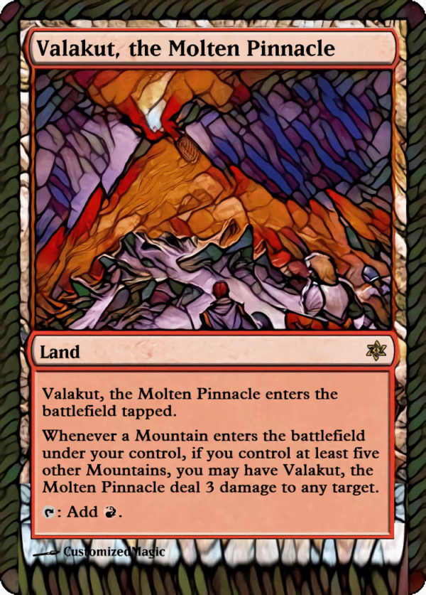 Valakut the Molten Pinnacle - Magic the Gathering Proxy Cards