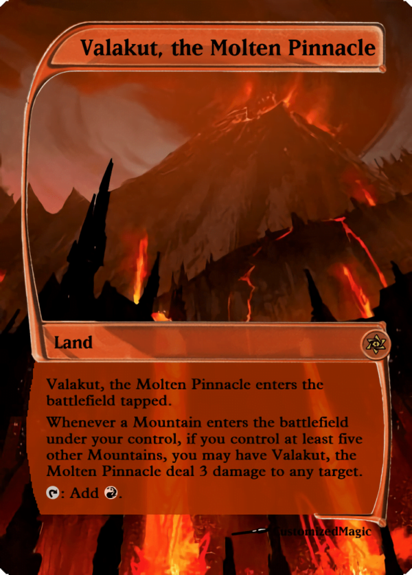 Valakut the Molten Pinnacle.3 - Magic the Gathering Proxy Cards