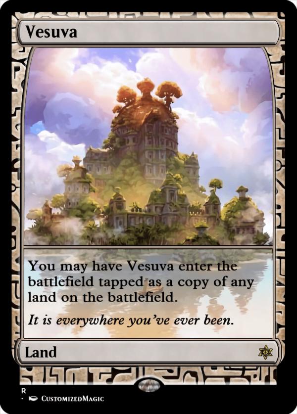 Vesuva.1 - Magic the Gathering Proxy Cards