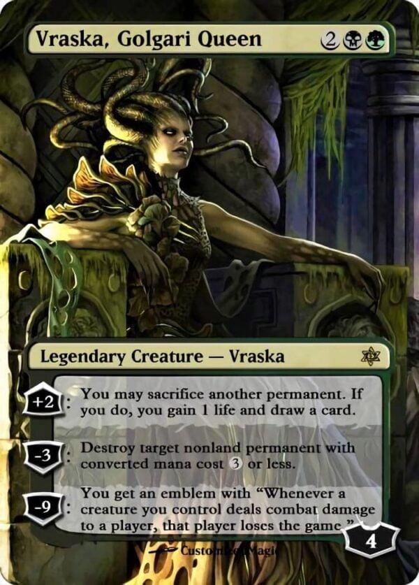 Vraska Golgari Queen - Magic the Gathering Proxy Cards