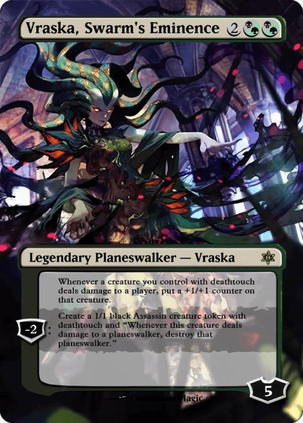 Vraska Swarms Eminence - Magic the Gathering Proxy Cards