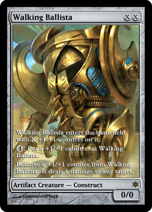 Walking Ballista - Magic the Gathering Proxy Cards