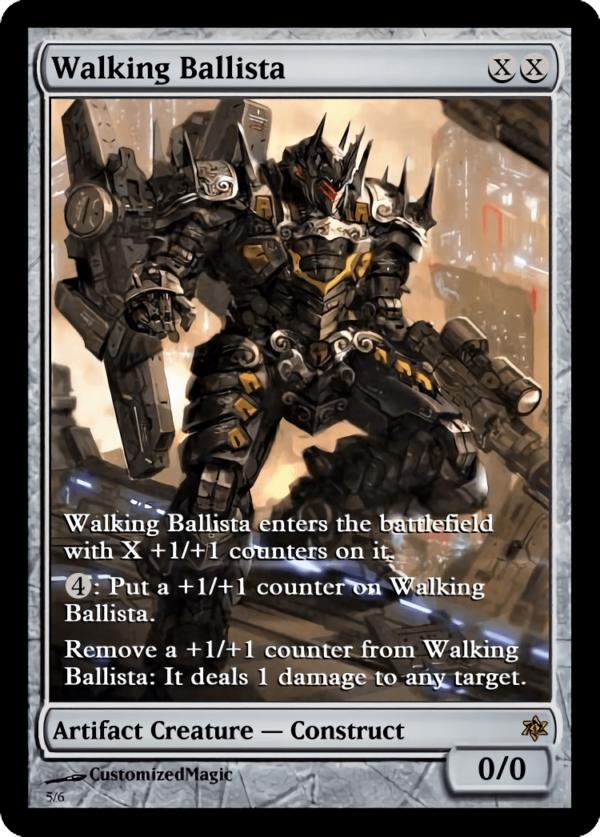 Walking Ballista.6 - Magic the Gathering Proxy Cards