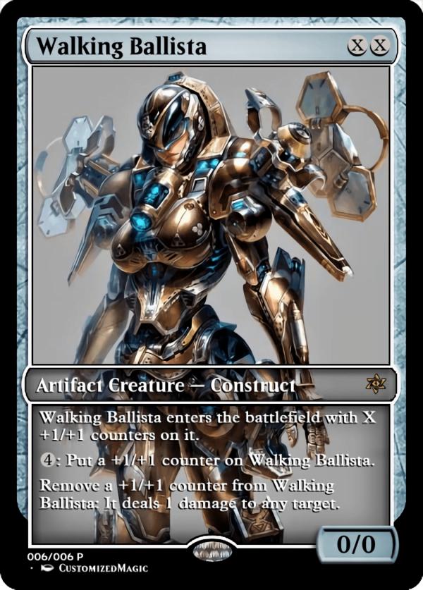 Walking Ballista.7 - Magic the Gathering Proxy Cards