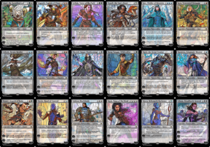 War of the Sparks Planeswalkers Stained Glass - Part 1