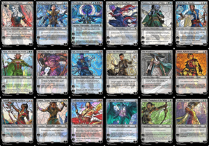 War of the Sparks Planeswalkers Stained Glass - Part 2