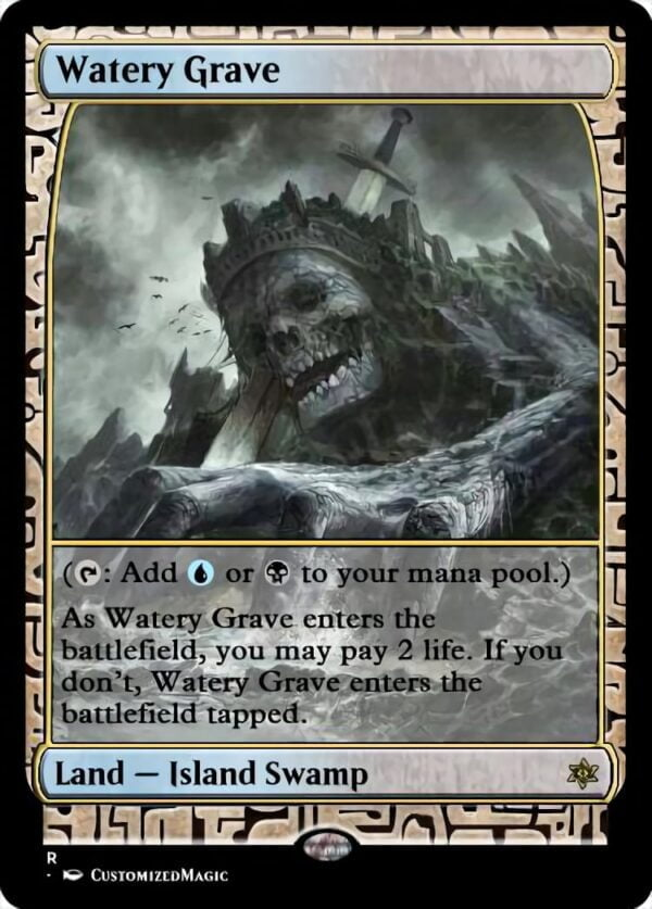 Watery Grave - Magic the Gathering Proxy Cards
