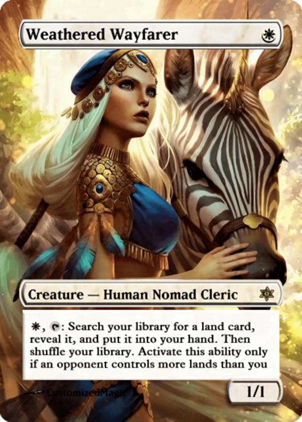 Weathered Wayfarer.11 - Magic the Gathering Proxy Cards