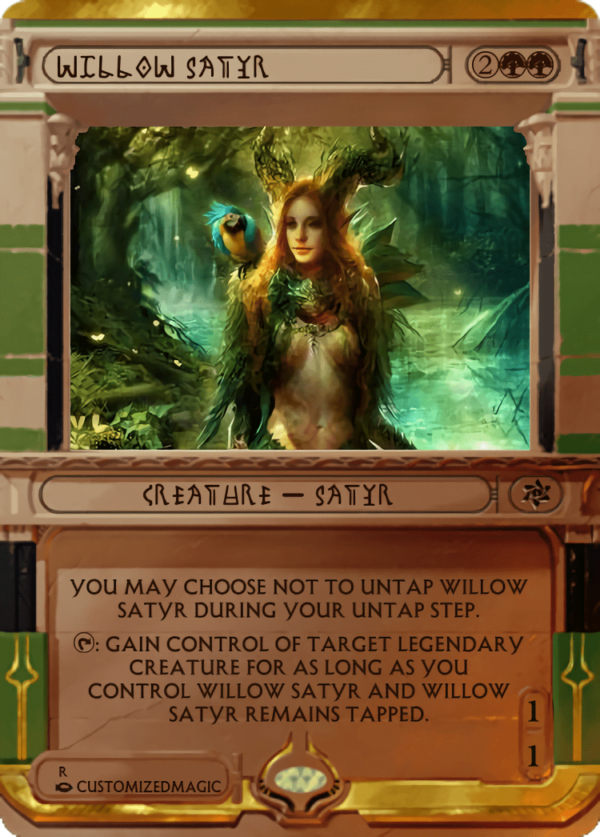 Willow Satyr.2 - Magic the Gathering Proxy Cards