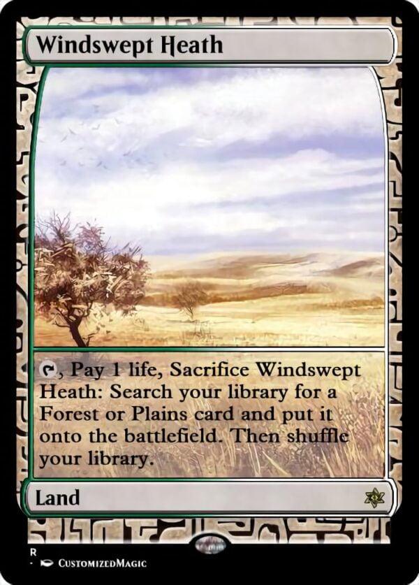 Windswept Heath - Magic the Gathering Proxy Cards