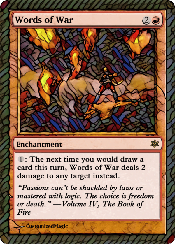 Words of War - Magic the Gathering Proxy Cards
