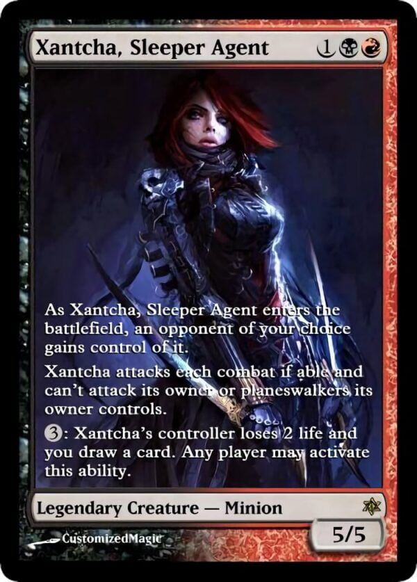 Xantcha Sleeper Agent - Magic the Gathering Proxy Cards
