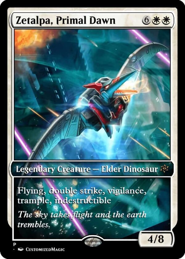 Zetalpa Primal Dawn - Magic the Gathering Proxy Cards