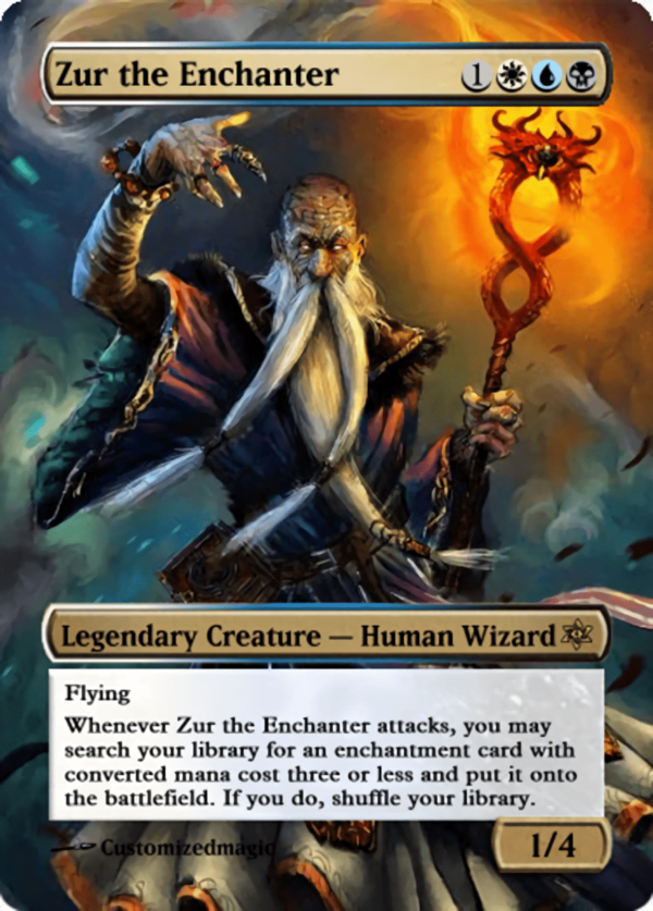 Zur the Enchanter.11 - Magic the Gathering Proxy Cards