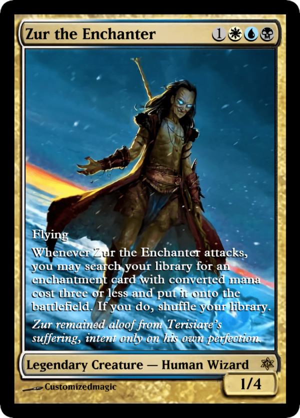 Zur the Enchanter.5 - Magic the Gathering Proxy Cards