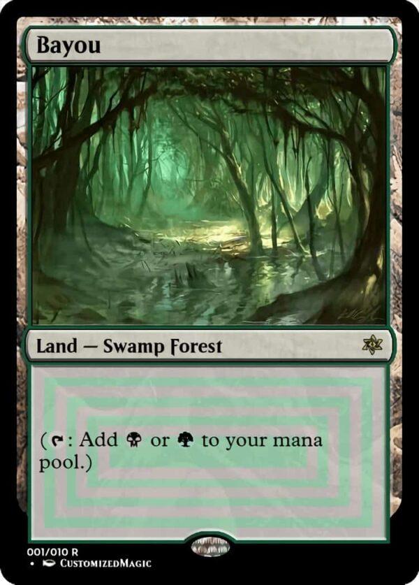 Bayou - Magic the Gathering Proxy Cards