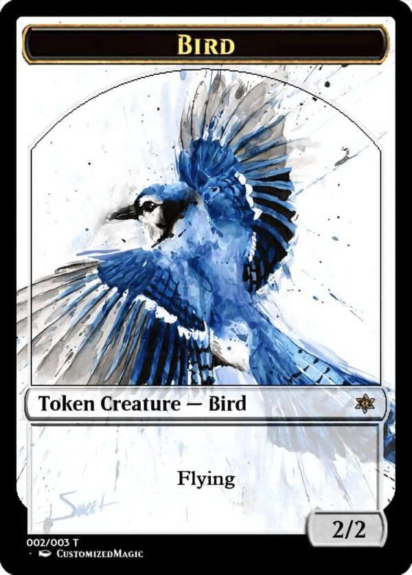 Bird Token - Magic the Gathering Proxy Cards