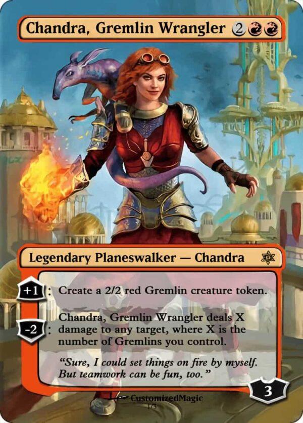 Chandra Gremlin Wrangler - Magic the Gathering Proxy Cards