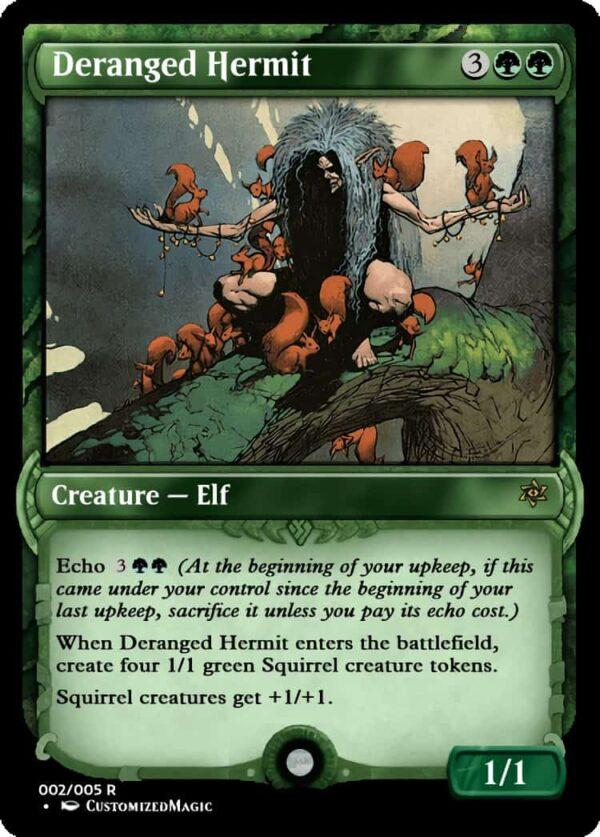 Deranged Hermit.1 - Magic the Gathering Proxy Cards