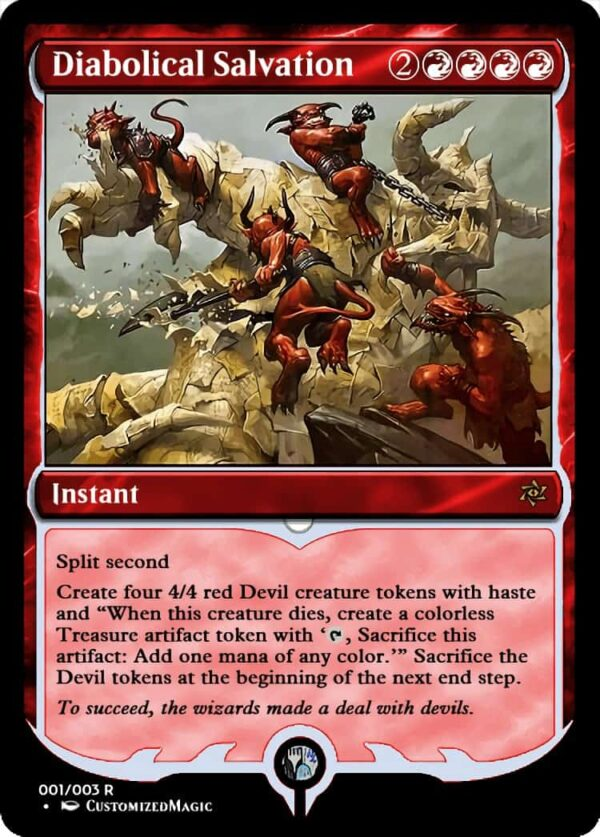 Diabolical Salvation - Magic the Gathering Proxy Cards