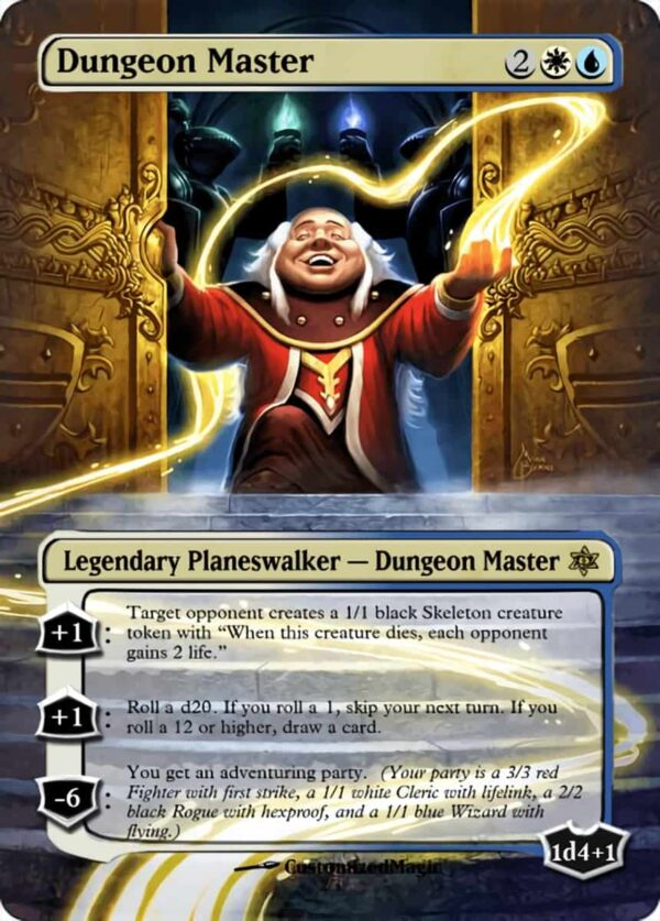 Dungeon Master - Magic the Gathering Proxy Cards