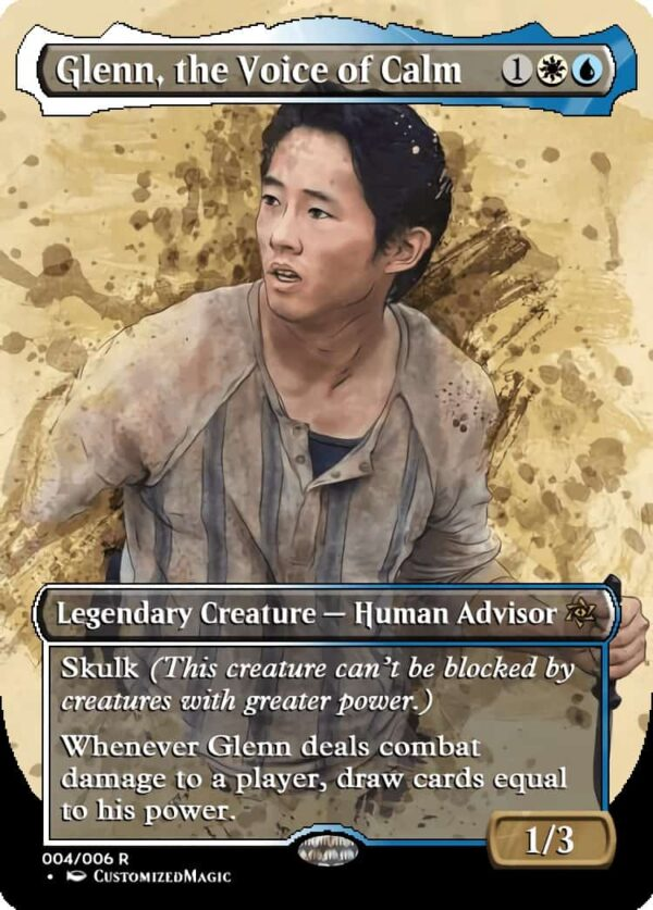 Glenn the Voice of Calm - Magic the Gathering Proxy Cards