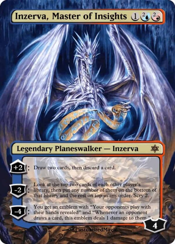 Inzerva Master of - Magic the Gathering Proxy Cards