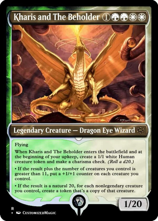 Kharis and The Beholder - Magic the Gathering Proxy Cards