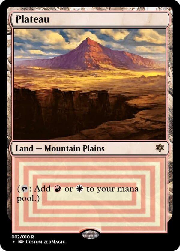 Plateau - Magic the Gathering Proxy Cards