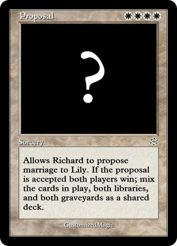 Proposal - Magic the Gathering Proxy Cards