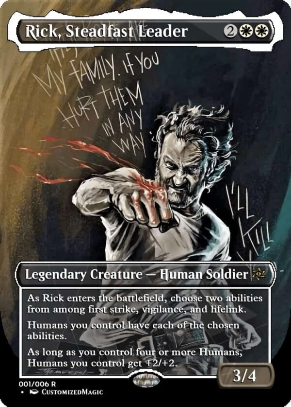 Rick Steadfast Leader - Magic the Gathering Proxy Cards