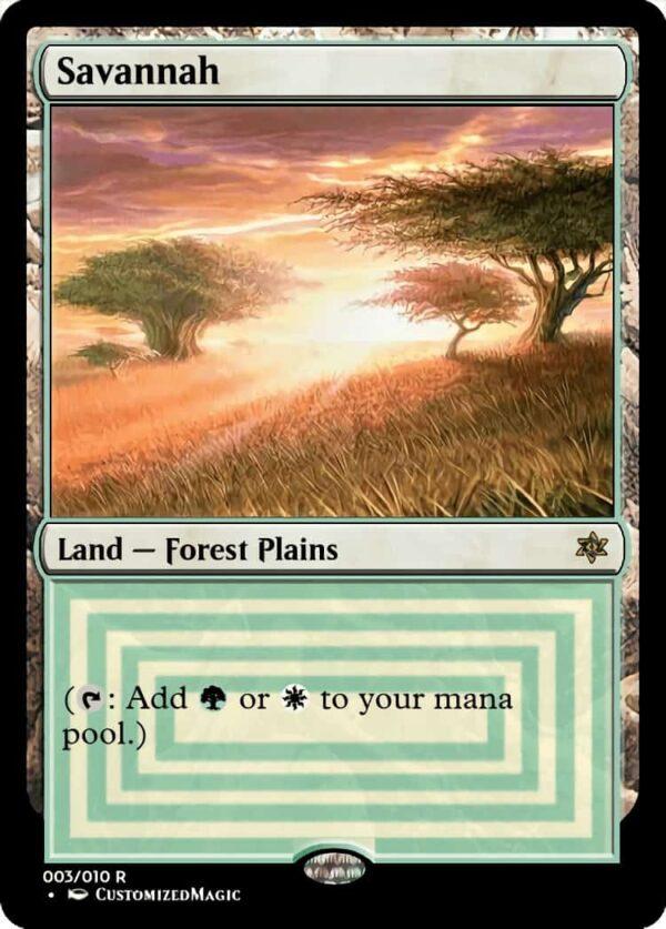 Savannah - Magic the Gathering Proxy Cards