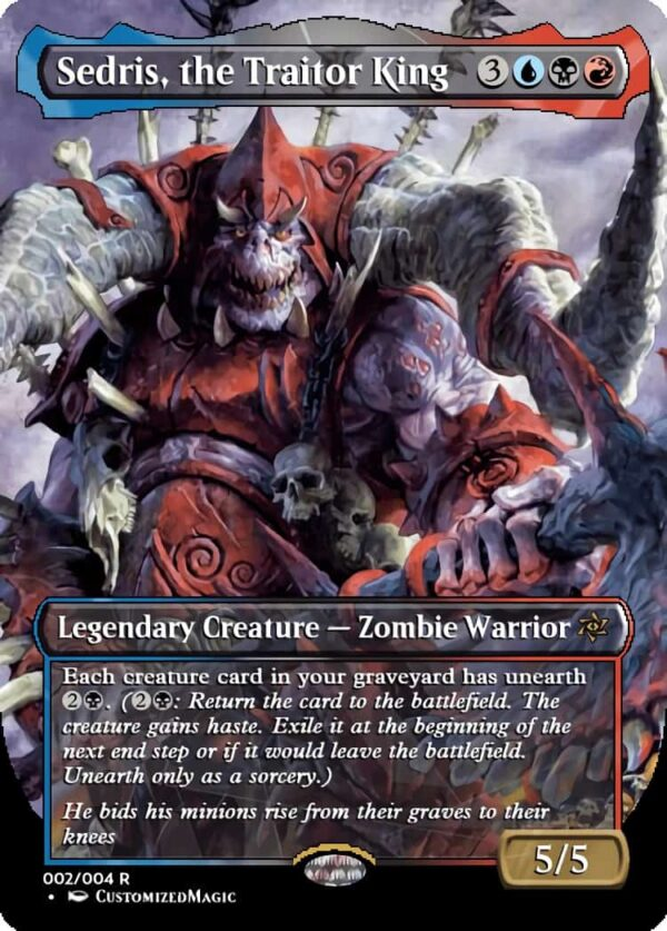 Sedris the Traitor King.1 - Magic the Gathering Proxy Cards