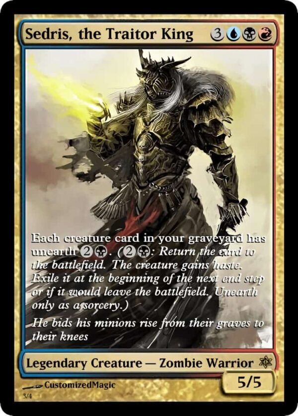 Sedris the Traitor King.2 - Magic the Gathering Proxy Cards
