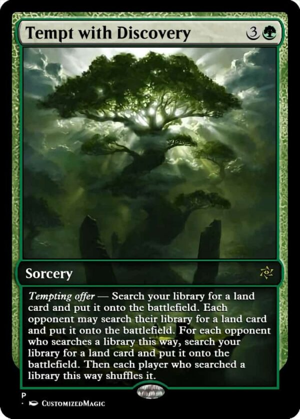 Tempt with Discovery.3 - Magic the Gathering Proxy Cards