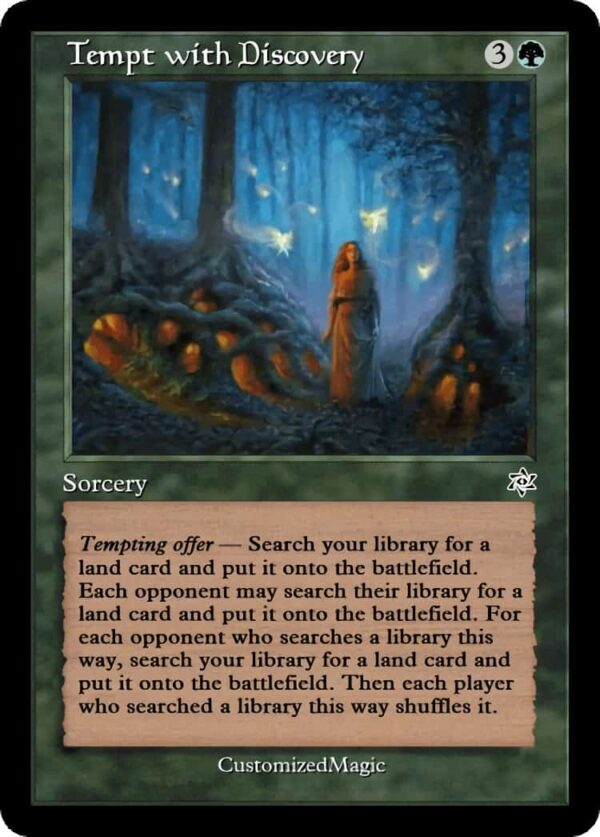 Tempt with Discovery.5 - Magic the Gathering Proxy Cards