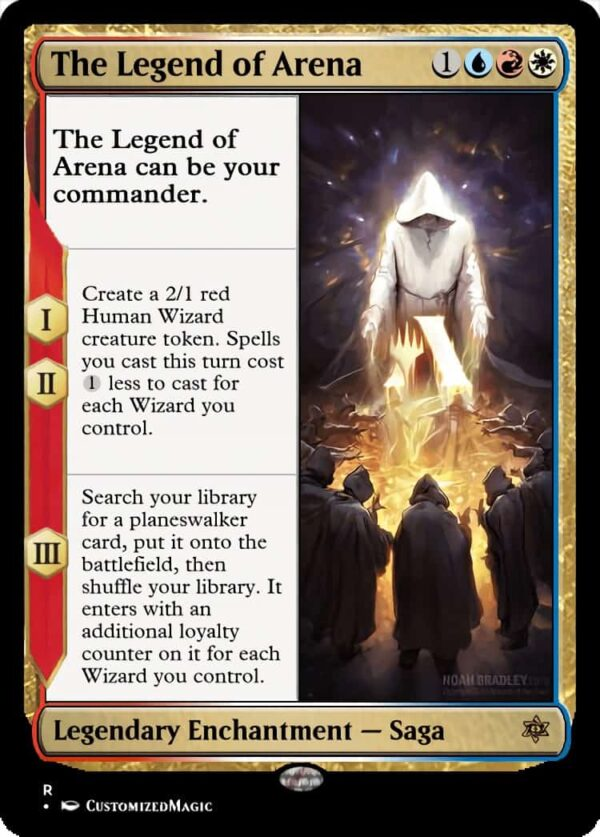 The Legend of Arena - Magic the Gathering Proxy Cards