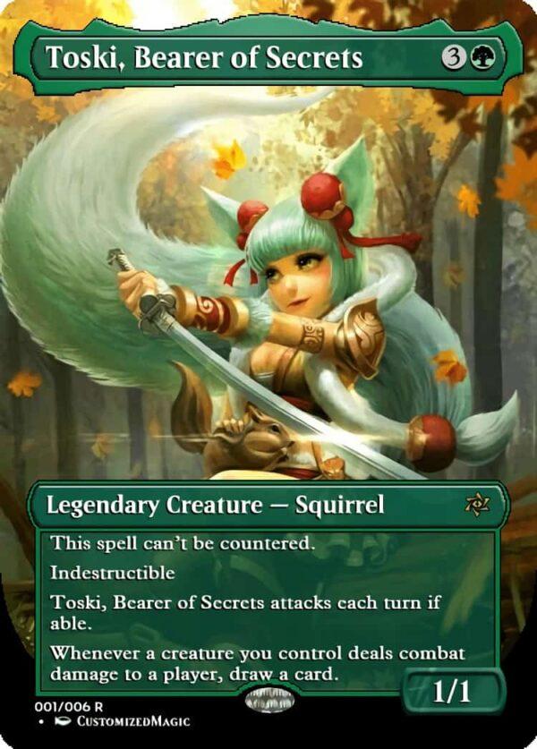 Toski Bearer of Secrets - Magic the Gathering Proxy Cards