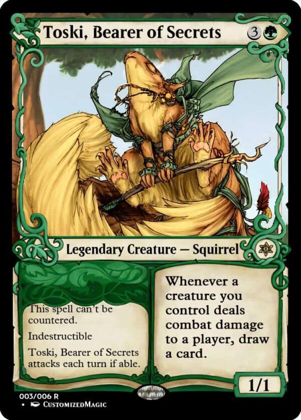 Toski Bearer of Secrets.2 - Magic the Gathering Proxy Cards