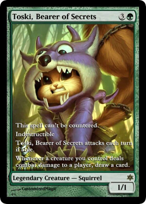 Toski Bearer of Secrets.3 - Magic the Gathering Proxy Cards