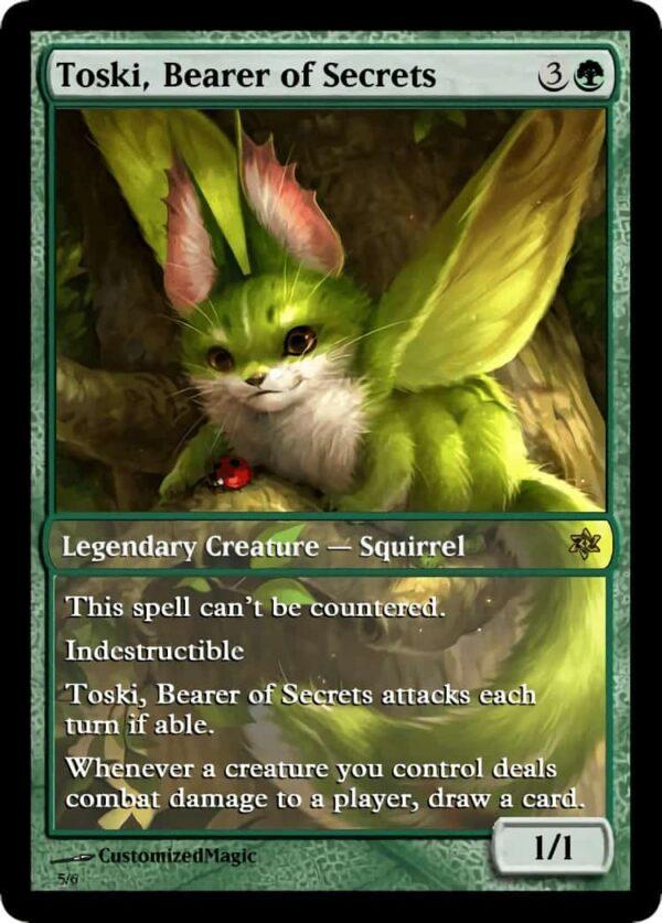 Toski Bearer of Secrets.4 - Magic the Gathering Proxy Cards