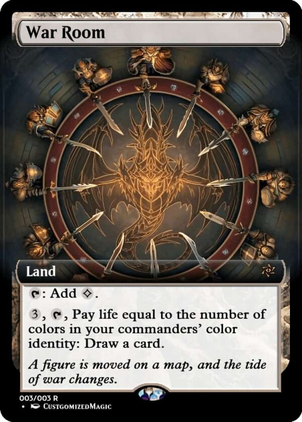 War Room.1 - Magic the Gathering Proxy Cards