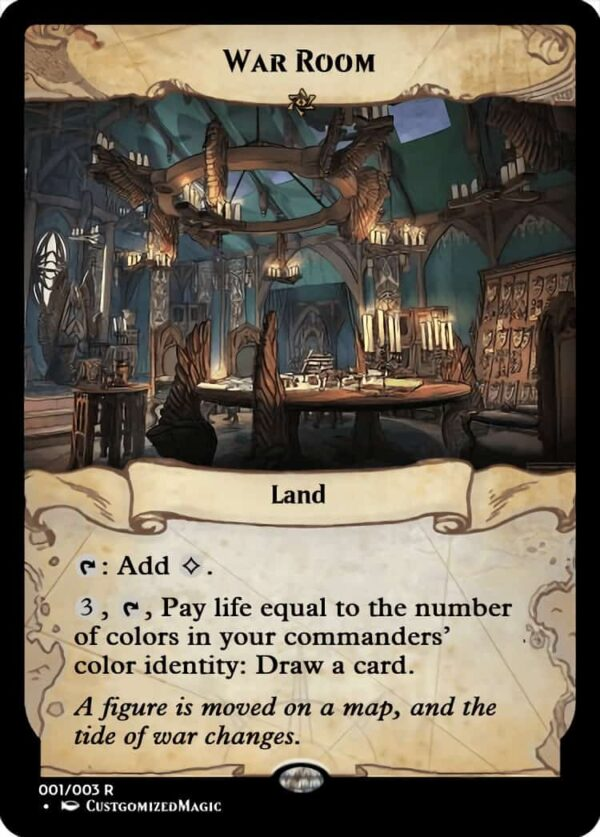 War Room.2 - Magic the Gathering Proxy Cards