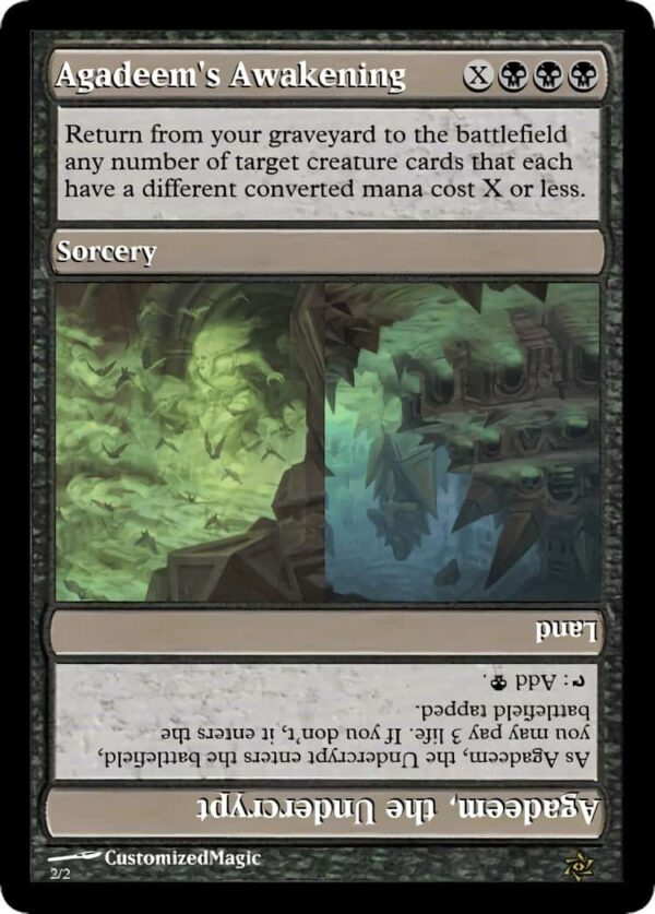 Agadeems Awakening.1 - Magic the Gathering Proxy Cards