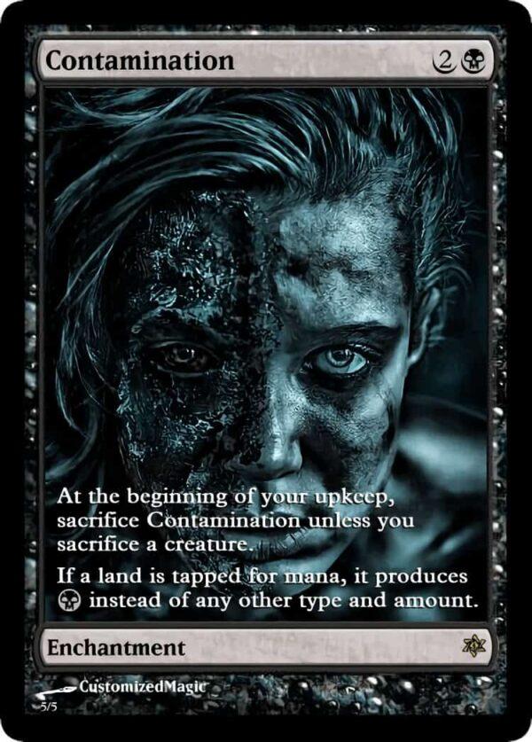 Contamination.4 - Magic the Gathering Proxy Cards
